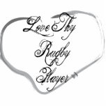Love Thy Rugby Player Photo Sculptures