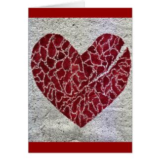 Love til it hurts greeting card