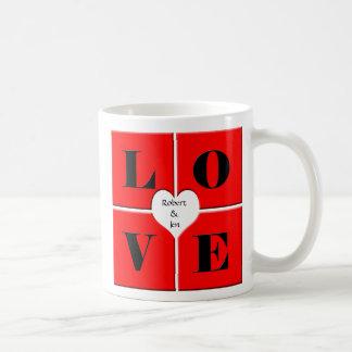Love Tiles Basic White Mug