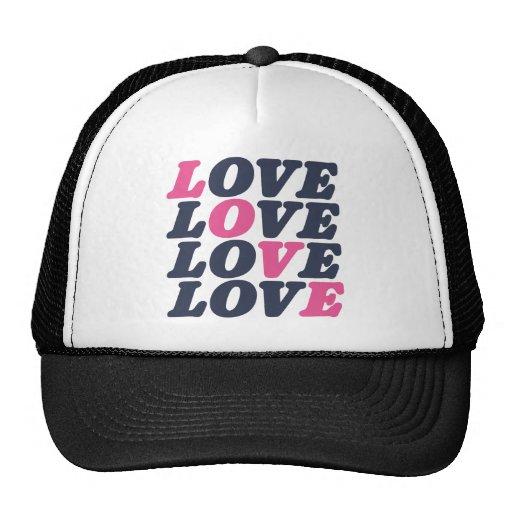 Love Times Five Trucker Hat