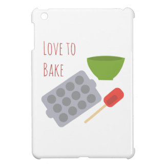Love To Bake Cover For The iPad Mini