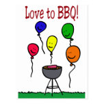 Love to BBQ Post Card