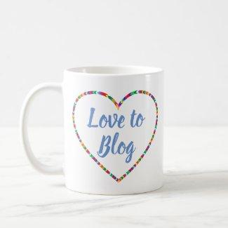 Love to Blog Mug