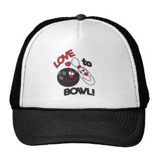 Love to Bowl Cap