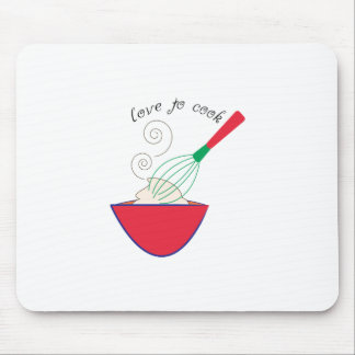 Love To Cook Mouse Pad