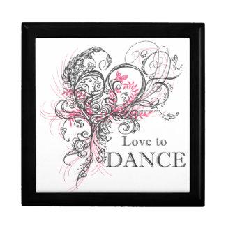Love to Dance (Grey) Gift Box