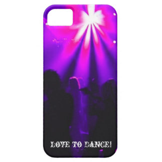 Love to Dance iPhone5 case w/Dance Party logo iPhone 5 Cases