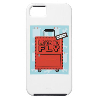 Love to Fly iPhone 5 Covers