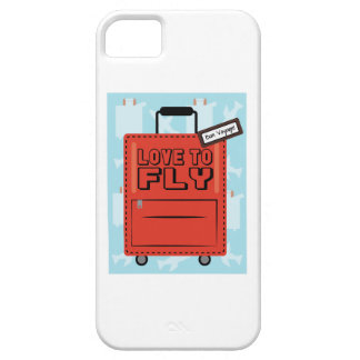 Love to Fly iPhone 5/5S Cover