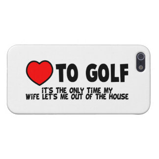 Love To Golf Cover For iPhone 5/5S