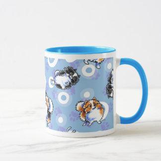 Love to Parti Pomeranians Mug