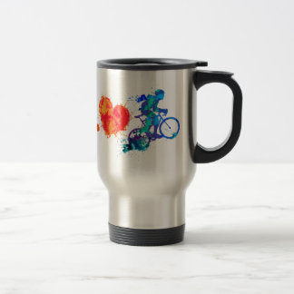 Love to Ride - sport bike Travel Mug