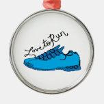 Love to Run Ornaments