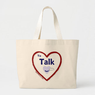 Love to Talk Canvas Bags