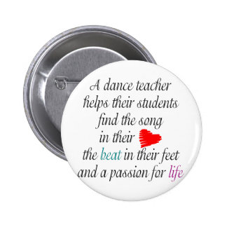 Love to Teach Dance Button s