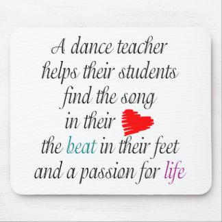 Love to Teach Dance Mouse pad