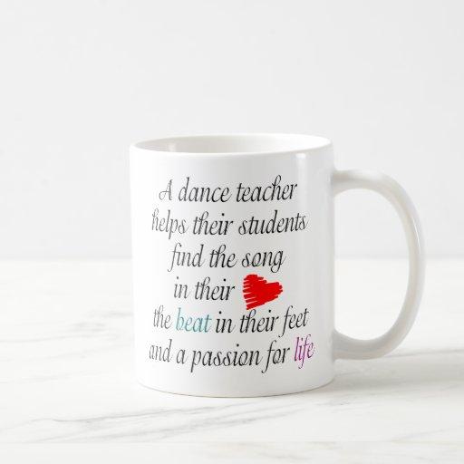 Love to Teach Dance Mug