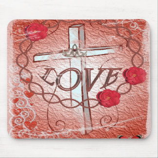 Love Tote Mouse Pad