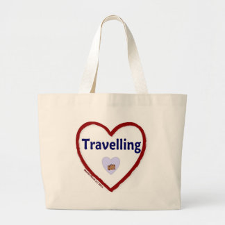 Love Travelling Canvas Bags