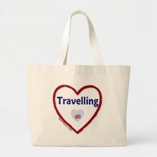 Love Travelling Jumbo Tote Bag