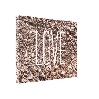 Love Tree Bark, Nature, Trees, Photo Canvas Gallery Wrap Canvas