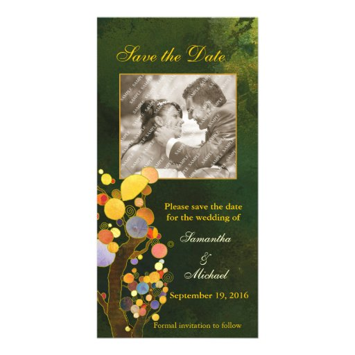 Love Trees: Save the Date Photo Cards
