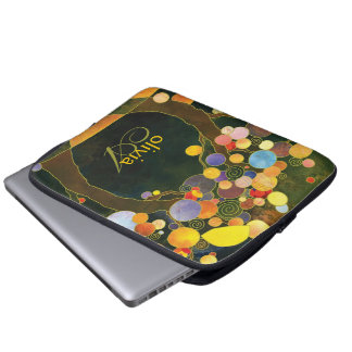 Love Trees Stylish Illustration Laptop Sleeve