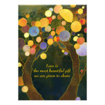 Love Trees: Wedding Invitations (White Back)