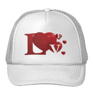 Love Trucker Cap Mesh Hat