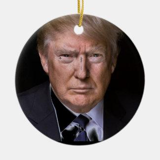 Love Trump Ceramic Ornament