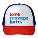 love trumps hate cap