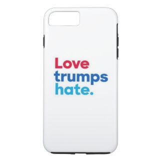 Love trumps hate. iPhone 8 plus/7 plus case