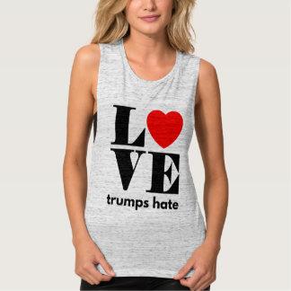 Love Trumps Hate Tank Top