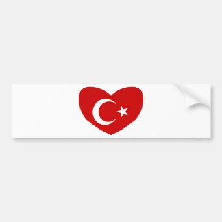 Love Turkey Bumper Sticker