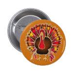 LOVE TURKEY by SHARON SHARPE 6 Cm Round Badge