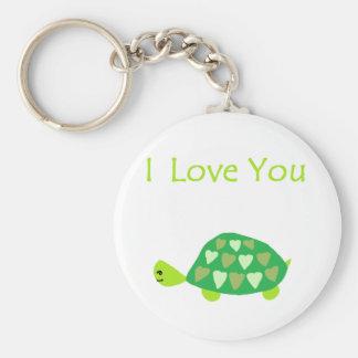 Love Turtle Key Ring