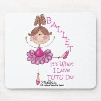 """Love """"TUTU"""" Do! Mouse Pad"""