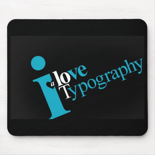love-typography-a-lot mouse mat