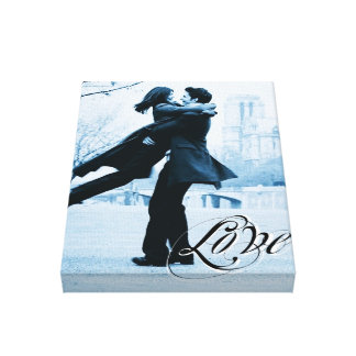 Love Typography Your Photo Template Wrapped Canvas Gallery Wrapped Canvas