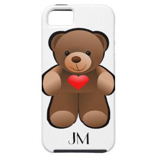 Love U Heart Teddy Bear iPhone 5 Cover