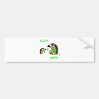 Love U Mum Bumper Sticker
