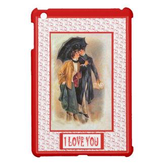 Love under an umbrella iPad mini covers