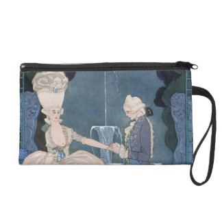 Love under the Fountain, illustration for 'Fetes G Wristlet
