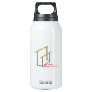 Love Uneven Bars Insulated Water Bottle