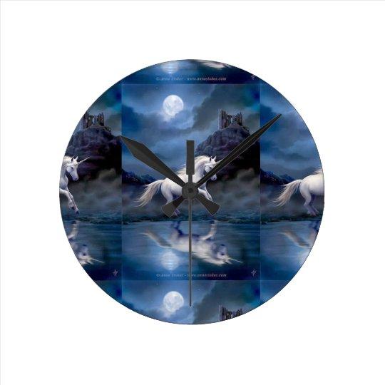 Love Unicorn's Wall Clock