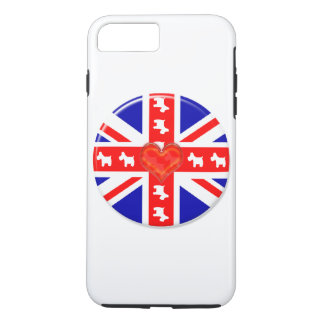 Love Union Jack (Westies) iPhone 7 Plus Case