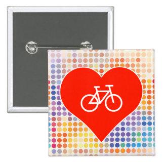 Love Urban 15 Cm Square Badge