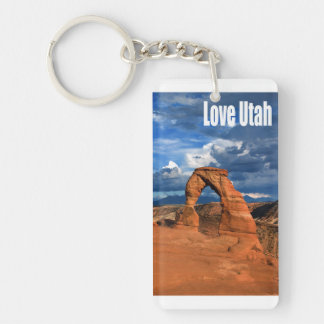 Love Utah Key Ring