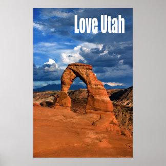 Love Utah Poster