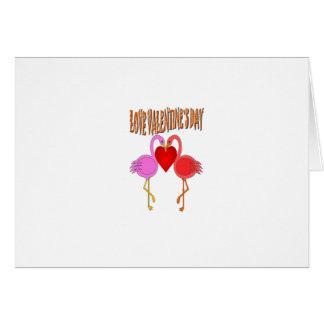 Love Valentine`s Day Greeting Card